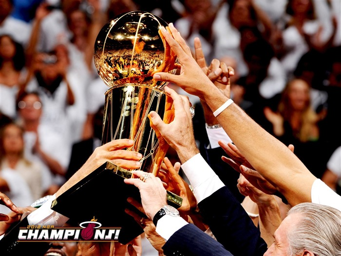 NBA2011-12 Season Champion Miami Heat Wallpapers Views:7809