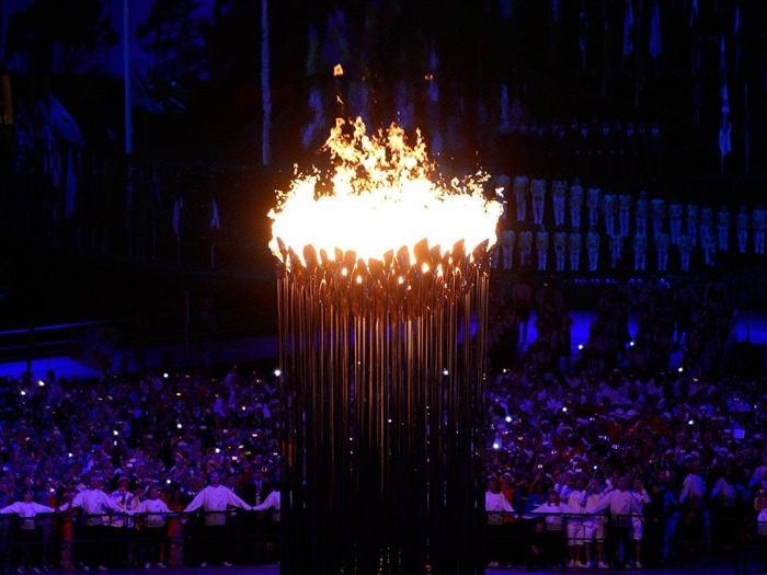 Unforgettable Fire-London 2012 Olympics opening ceremony Wallpaper Views:2988