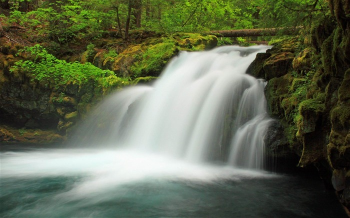 Waterfall United States of America-Nature rivers Landscape Wallpaper Views:6176
