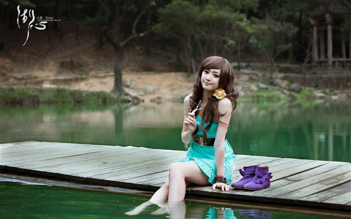 Xiao Ya-lake HD photography widescreen wallpaper 03 Views:6402