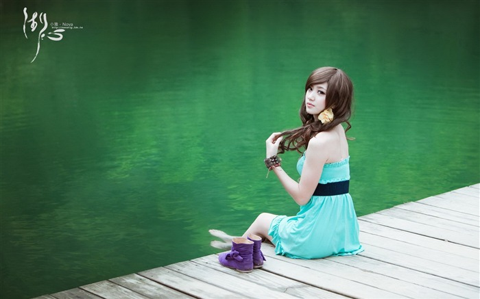 Xiao Ya-lake HD photography widescreen wallpaper 09 Views:4549
