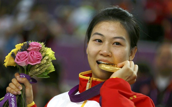 Yi Siling Gold Medal China Shooting Competition - London 2012 Views:2539