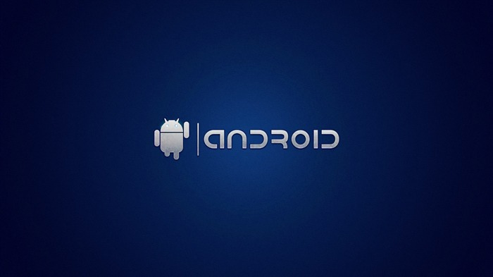 android on blue-Android advertising wallpaper Views:16720
