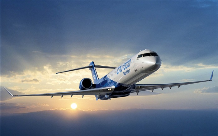 bombardier crj 1000-Aircraft transport Wallpaper Views:7212