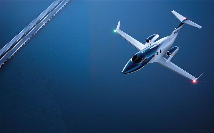 honda jet in flight-Aircraft transport Wallpaper Views:14766