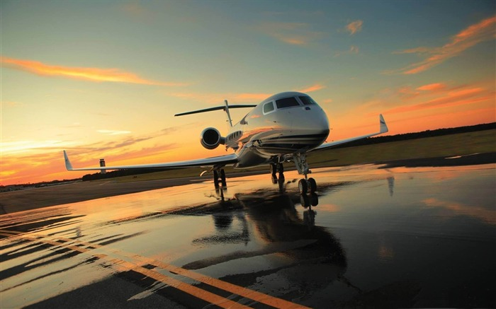 private plane-Aircraft transport Wallpaper Views:4204