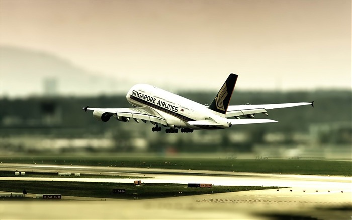 singapore airlines-Aircraft transport Wallpaper Views:5250