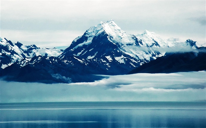 Aoraki Mount Cook New Zealand-landscape photo wallpapers Views:15581