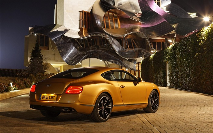 Bentley Continental GT V8 rear-Cars desktop wallpaper Views:8158