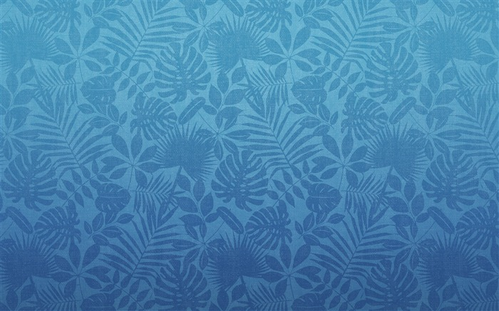Blue Hawaiian printing-Mac OS Wallpaper Views:33145