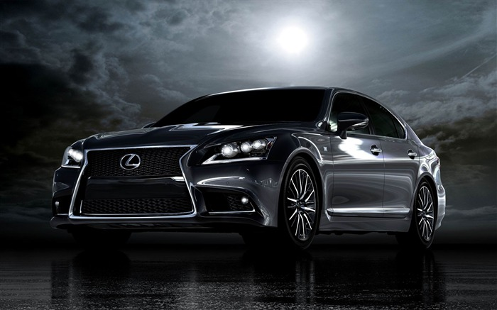 Lexus LS 460 F Sport Auto HD Wallpaper Views:12721