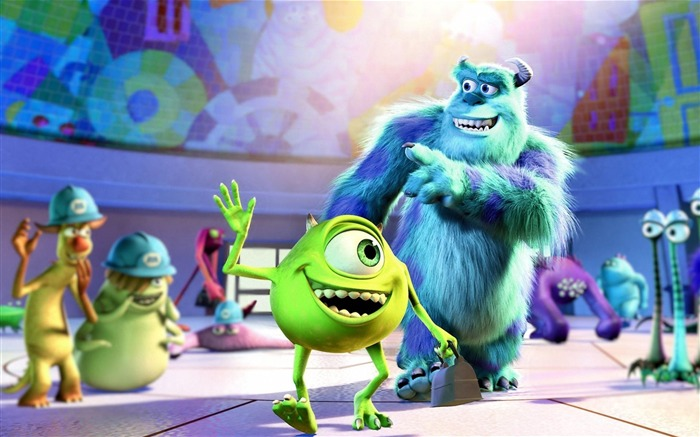 Monsters University 2013 Movie HD Wallpaper Views:14029