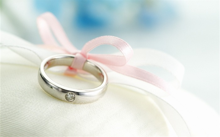 Romantic Valentines Day rings Desktop wallpaper Views:7557