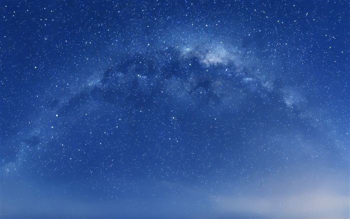 Star in the Galaxy-Mac OS Wallpaper Views:92907