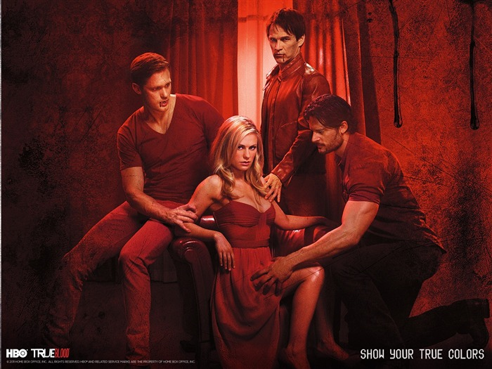 True Blood-American TV series Wallpaper 08 Views:3308
