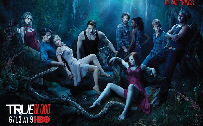 True Blood-American TV series Wallpaper Views:5158