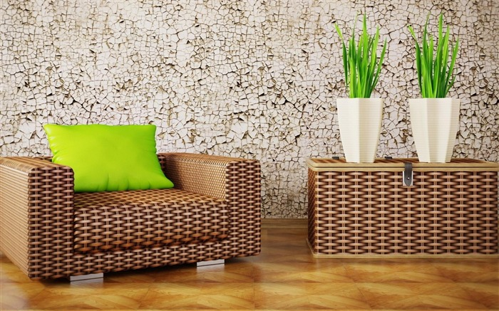 modern green interior-High Quality wallpaper Views:9841