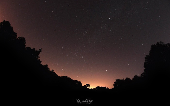 night of stars-Nature Wallpapers Views:6448