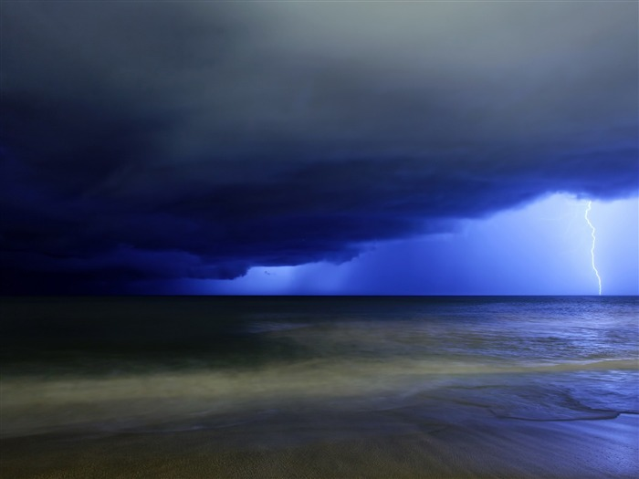 night storm-landscape photo wallpapers Views:6898