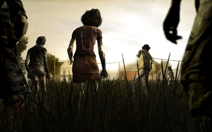 the walking dead-2012 Game wallpaper Views:14606