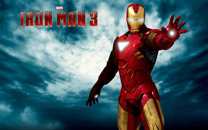 2013 Iron Man 3 Movie HD Desktop Wallpaper Views:12611