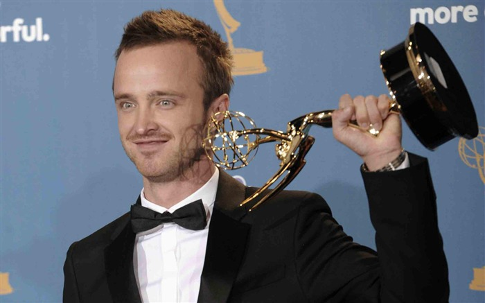 Aaron Paul-2012 64th Emmy Awards Highlights wallpaper Views:6487