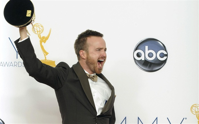 Aaron Paul -2012 64th Emmy Awards Highlights wallpaper Views:3504