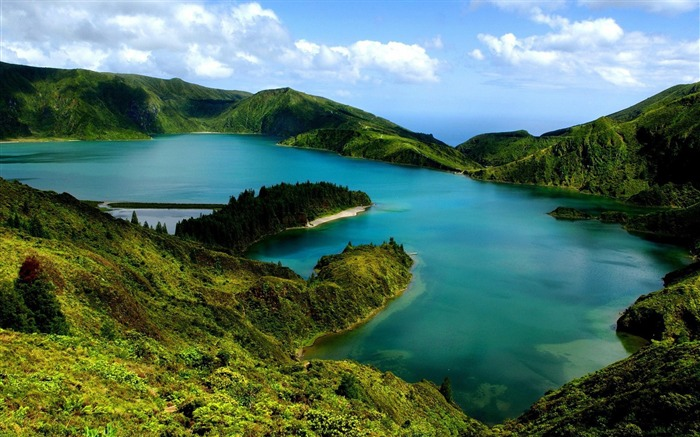 Azores Portuguese-Nature Wallpapers Views:14419