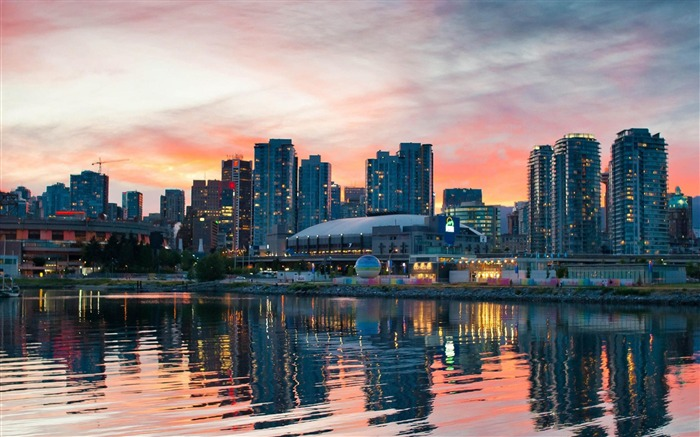 Beautiful Vancouver Canada-City photography wallpaper Views:15286