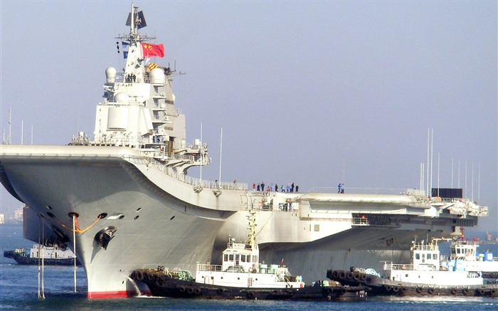 Chinese aircraft carrier 16th HD photography wallpaper 05 Views:8275