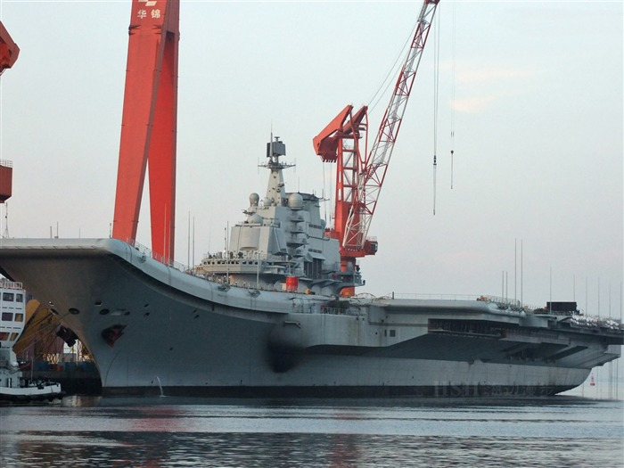 Chinese aircraft carrier 16th HD photography wallpaper 06 Views:3929
