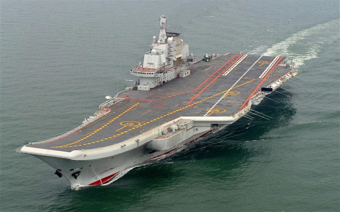 Chinese aircraft carrier 16th HD photography wallpaper 07 Views:15850
