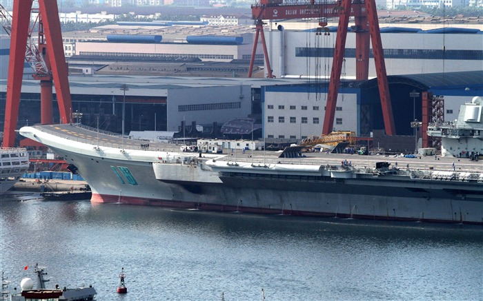 Chinese aircraft carrier 16th HD photography wallpaper 08 Views:6509