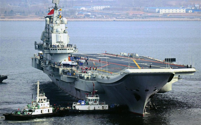 Chinese aircraft carrier 16th HD photography wallpaper 09 Views:6625