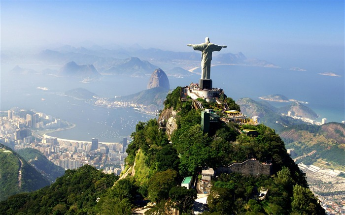 Christ The Redeemer Rio Brazil-Nature Wallpapers Views:83086