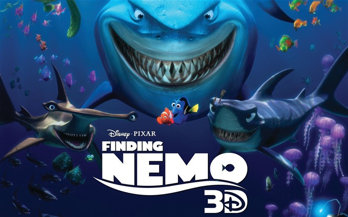 Finding Nemo 3D Movie HD Desktop Wallpaper Views:11820