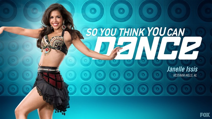Janelle lssis-So You Think You Can Dance Wallpaper Views:5651