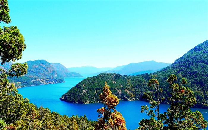 Lacar Lake province of Neuquen Argentina-nature photo wallpaper Views:10814