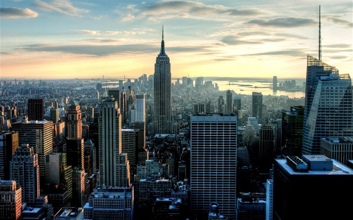New York City Empire State Building-City photography wallpaper Views:93661