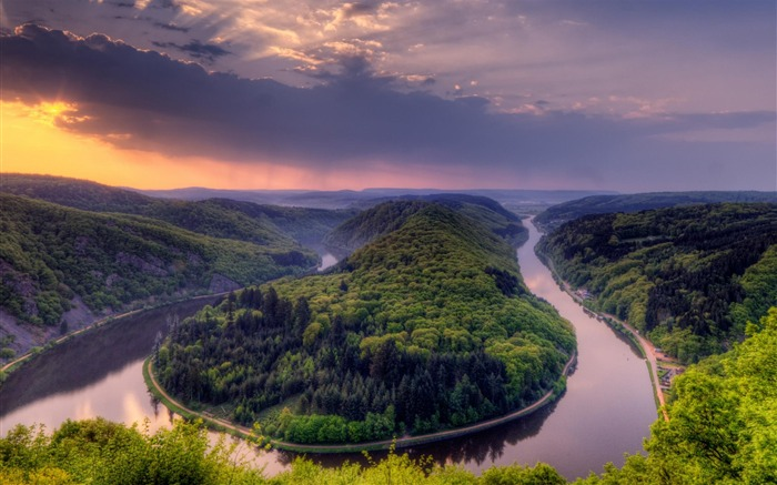 Orscholz Germany-Natural Scenery Wallpaper Views:17964