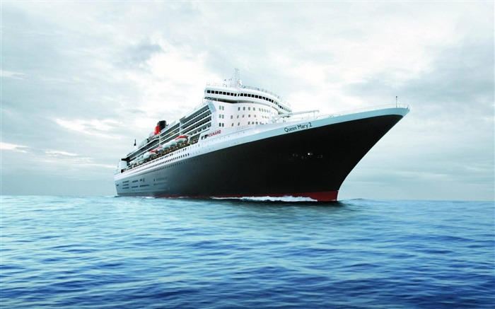 Queen Mary Yacht-High Quality wallpaper Views:7938