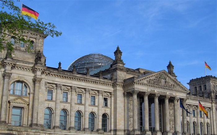Reichstag Berlin Germany-City photography wallpaper Views:7773