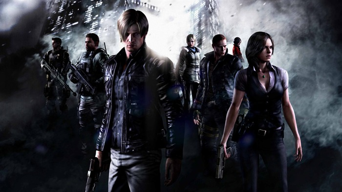 Resident Evil 6 Game HD Wallpaper 01 Views:29639