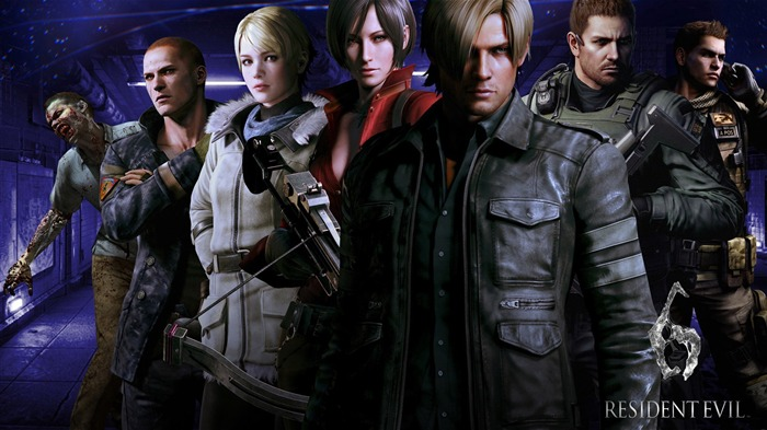 Resident Evil 6 Game HD Wallpaper 06 Views:13246