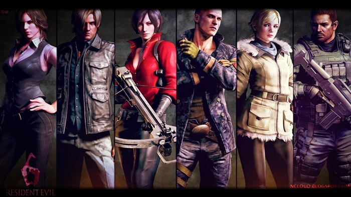 Resident Evil 6 Game HD Wallpaper 11 Views:29395