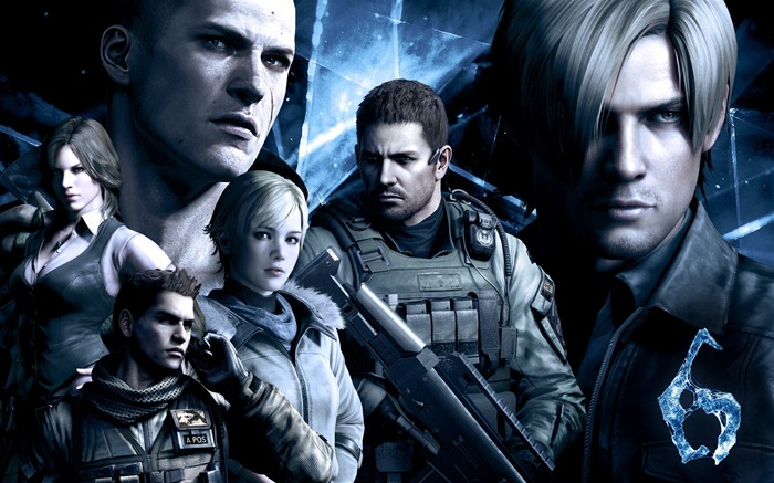 Resident Evil 6 Game HD Wallpaper Views:12248