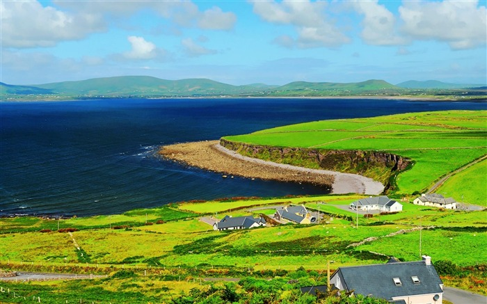 Ring of Kerry County Kerry south western Ireland-natural scenery wallpaper Views:49637