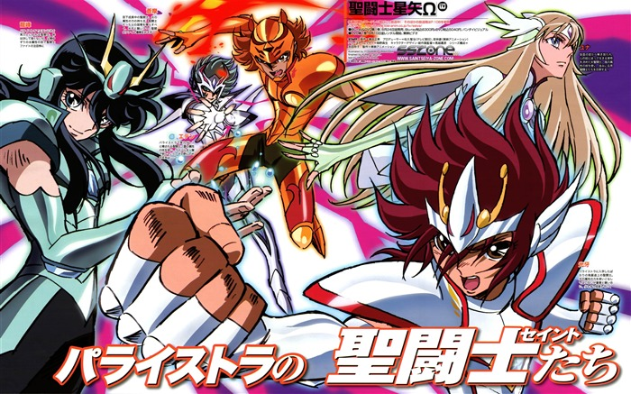 Saint Seiya Omega Anime HD wallpaper Views:21961
