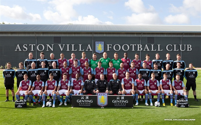 Aston Villa 2012 football desktop wallpaper Views:7758
