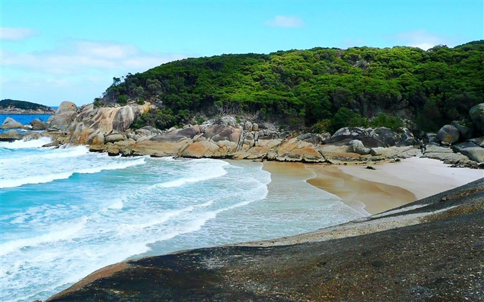 Squeaky Beach Wilsons Promontory National Park-nature photo wallpaper Views:3921